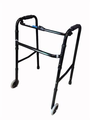 Ходунки шагающие с колёсами R Wheel цвет черный - фото 4880