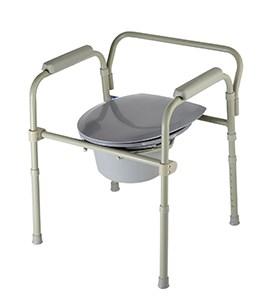Кресло-туалет складное регулируемое по высоте - фото 5627