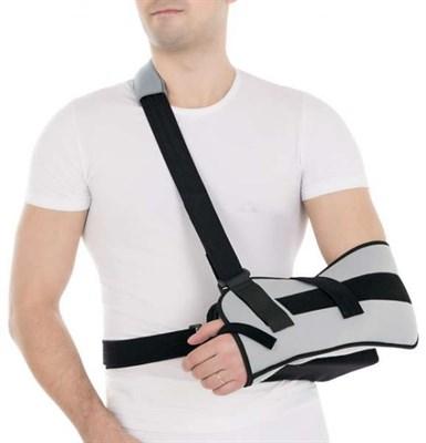 Бандаж фиксирующий на плечевой сустав с абдукционной подушкой Т-8106 - фото 5960
