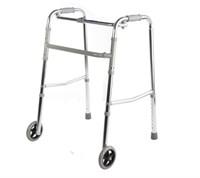 Ходунки шагающие с колёсами  R Wheel цвет хром