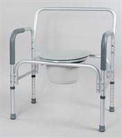 Кресло-туалет повышенной грузоподъемности до 180 кг.